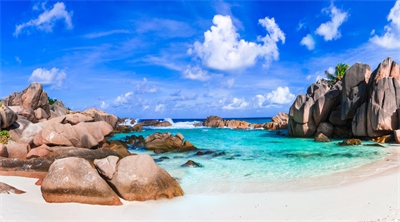 Seychelles resort a pure paradise