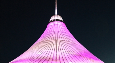 Kazakhstan home of the real Big Apple