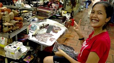 Cambodia's Russian market a fun place