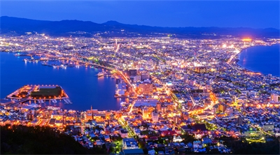 Hakodate is japan's shining city