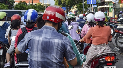 Scooting around Vietnam's largest city