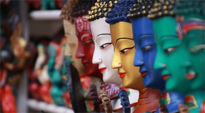Exploring the backstreets of Kathmandu