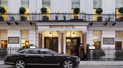 Story of London's oldest hotel, Brown's, a classic