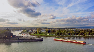 Rhine and wine in Koblenz