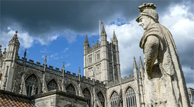 Bath Abbey is soaked in history