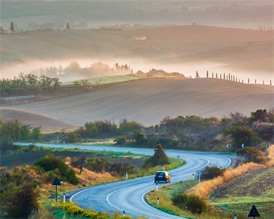 Drive along Tuscany's Chiantigiana a road trip back in time