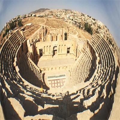 Jerash's park and Jordanian wonder