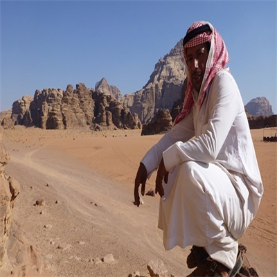 Walking in the footsteps of Lawrence of Arabia