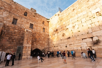 Jerusalem's Western Wall gets injections, too