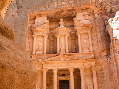 Pink City of Petra blushes with treasures