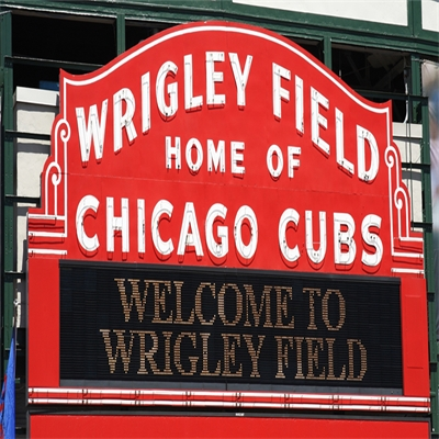 Chicago's Wrigley is a Field of dreams