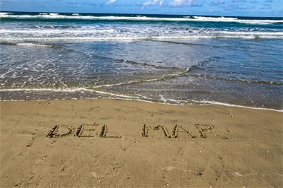 Life's a beach in trendy Del Mar