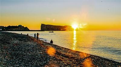 A 'busman's holiday' through the Gaspésie Peninsula