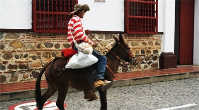 Riding back into colonial Colombia