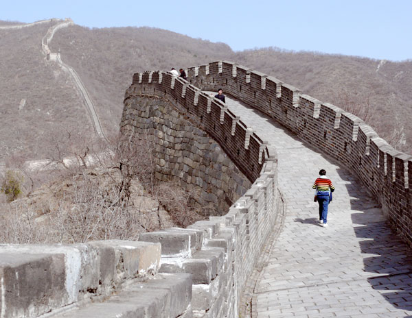 Breaking Down a Great Wall in China