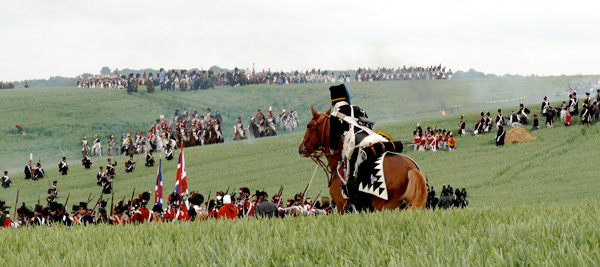 Waterloo Re-Enactments Bring Battle to Life