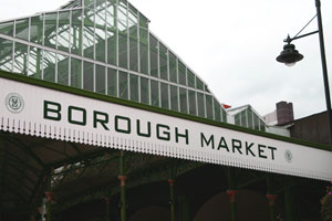 London's Borough Market a hidden treasure