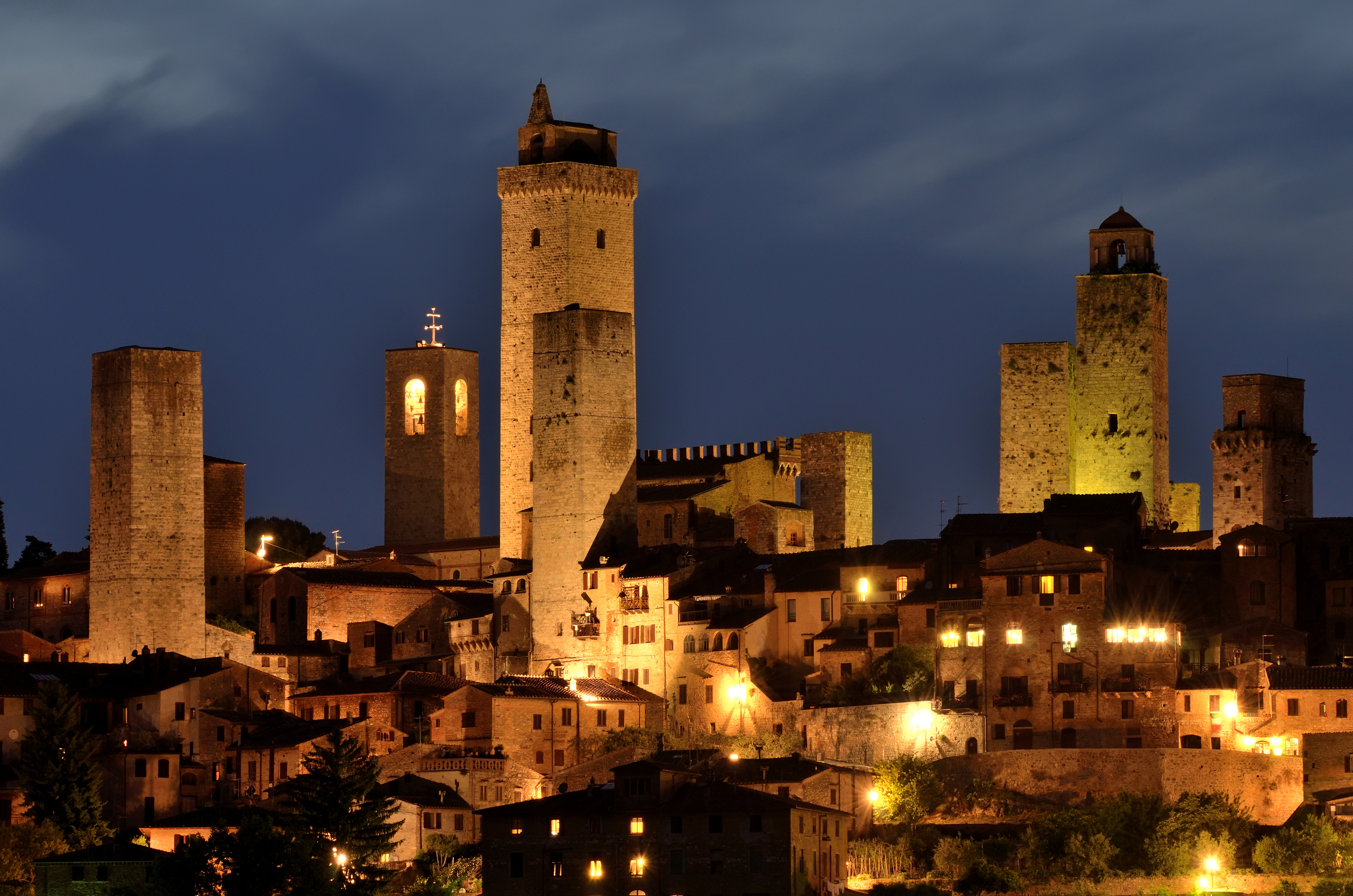 Tuscan Town has a Towering Influence