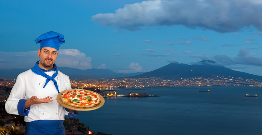 Beautiful Naples is pizzas and piazzas
