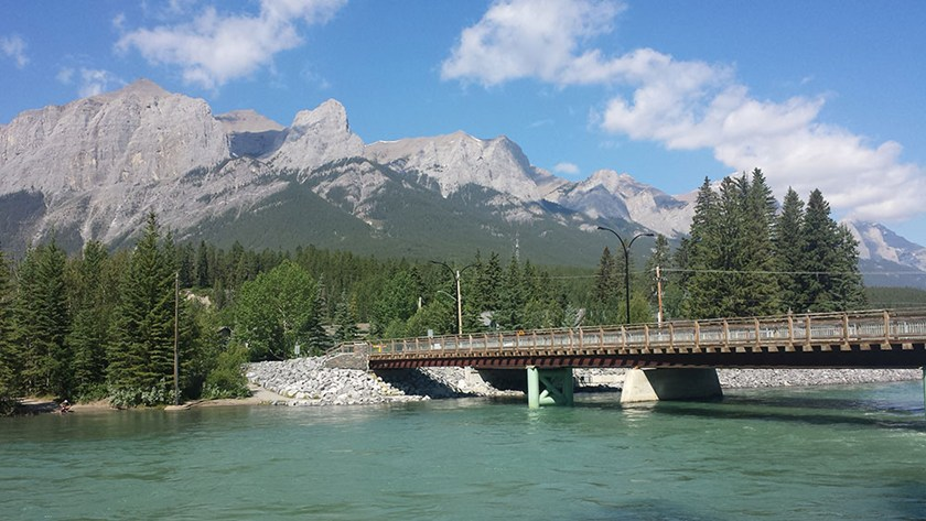 Canmore gives visitors a reason to smile