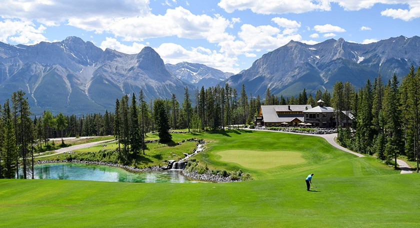 Golf on the Rocks with a twist of Alberta