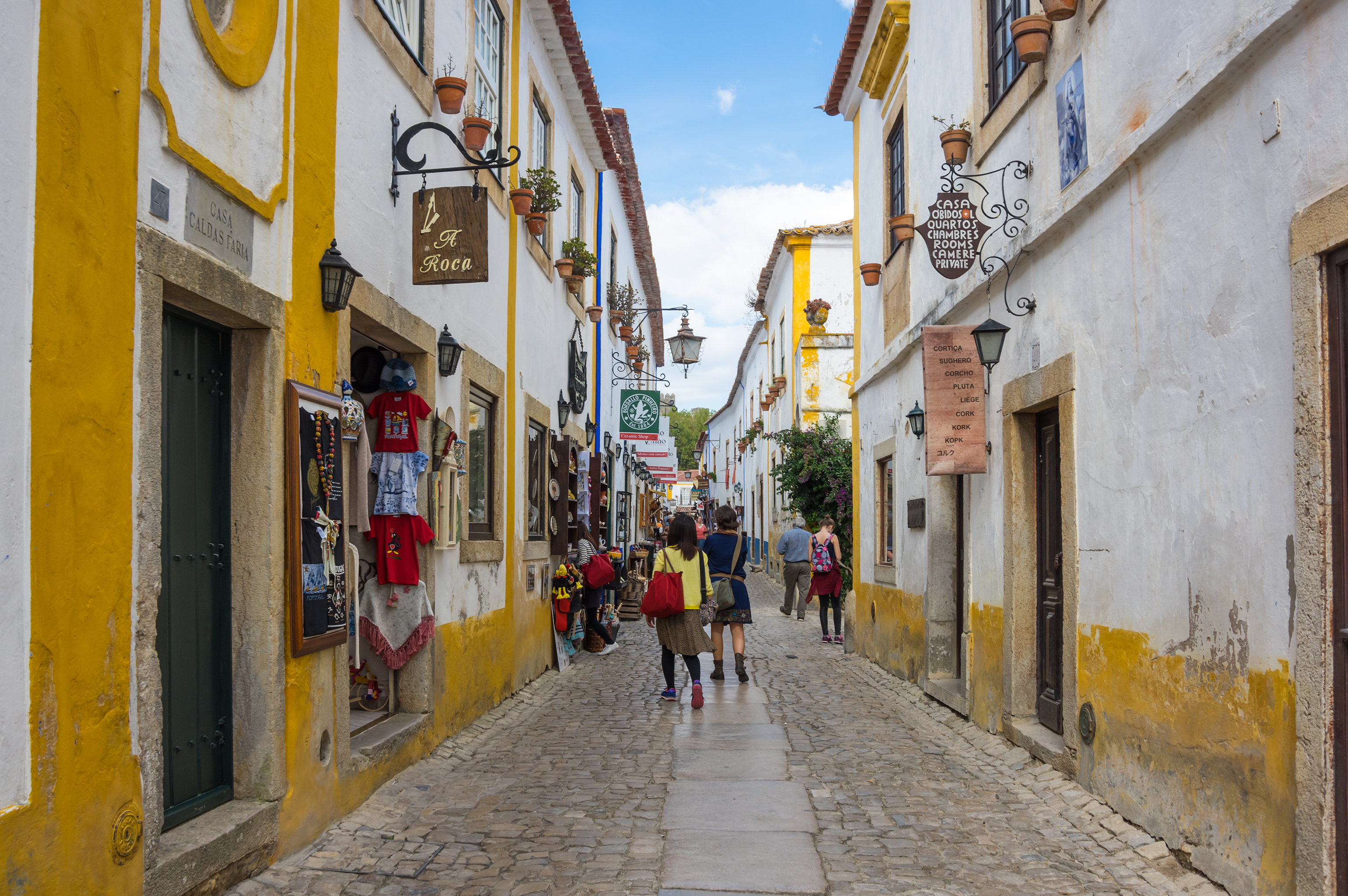 Ancient Óbidos is a Sweet Surprise