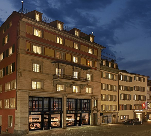 Zurich's Hotel Widder a Swiss Treasure