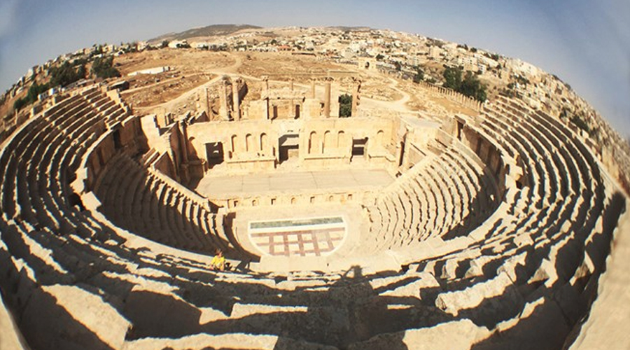 Jerash's park and Jordanian wonder