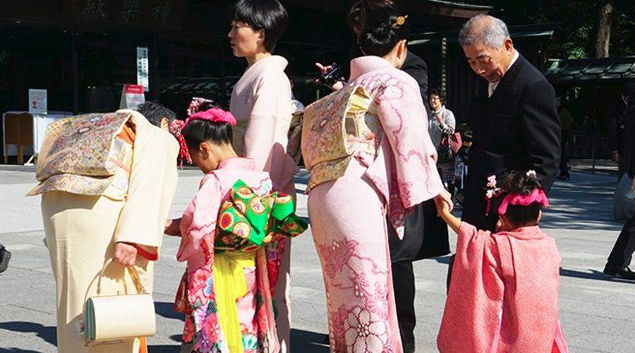 Japan Grows up at Colourful Ceremony