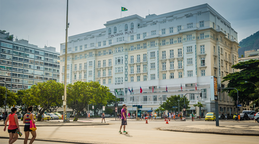Famed Hotel a Rio Charmer