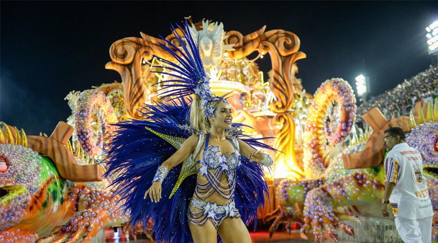 Carnival Site the Place for Rio Fun