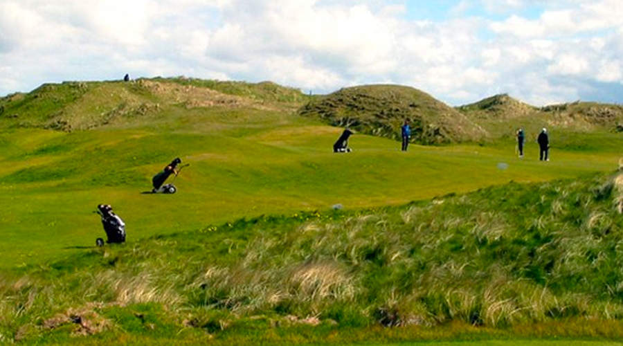 Ireland's Lahinch blows Golfers away