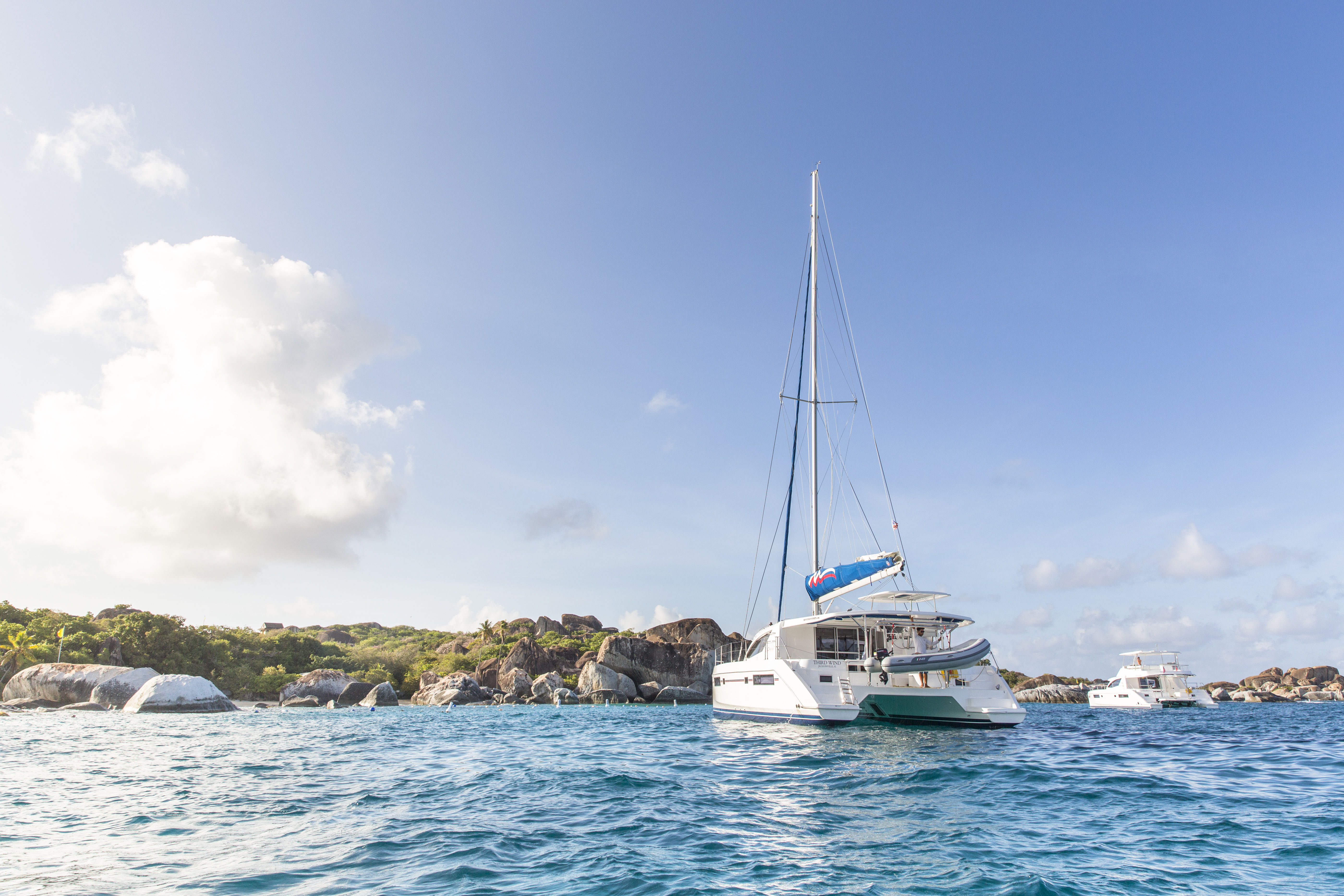 Yacht charter has mast appeal