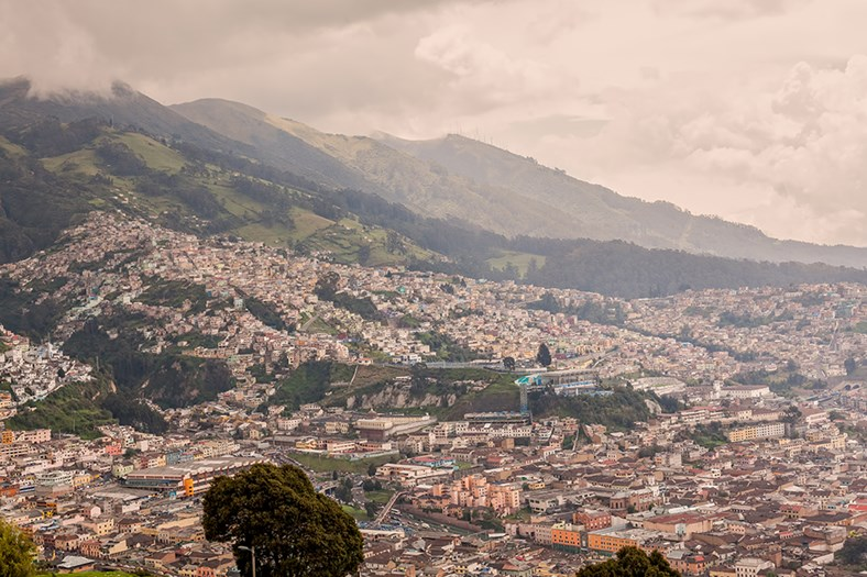 Quito is Middle Earth