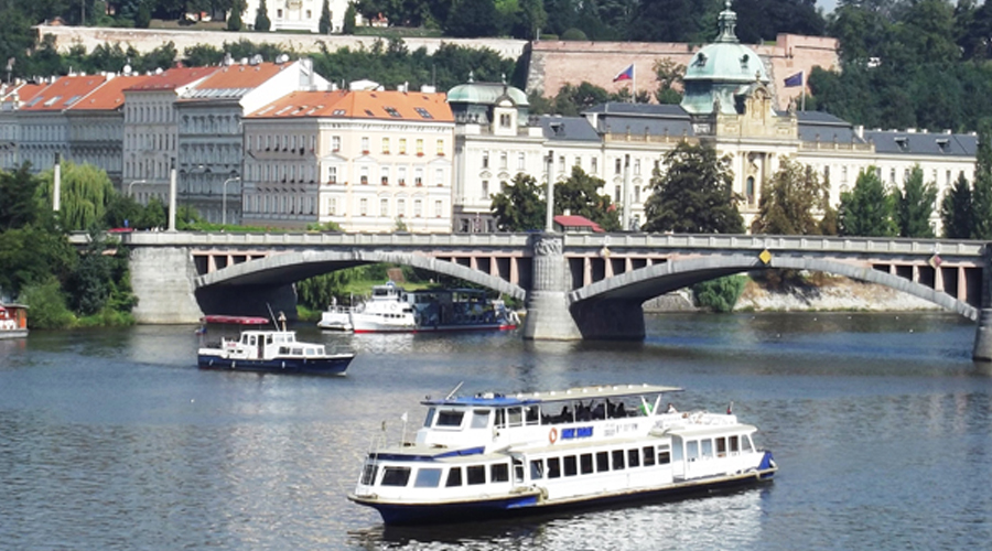 River cruises are moving sidewalks