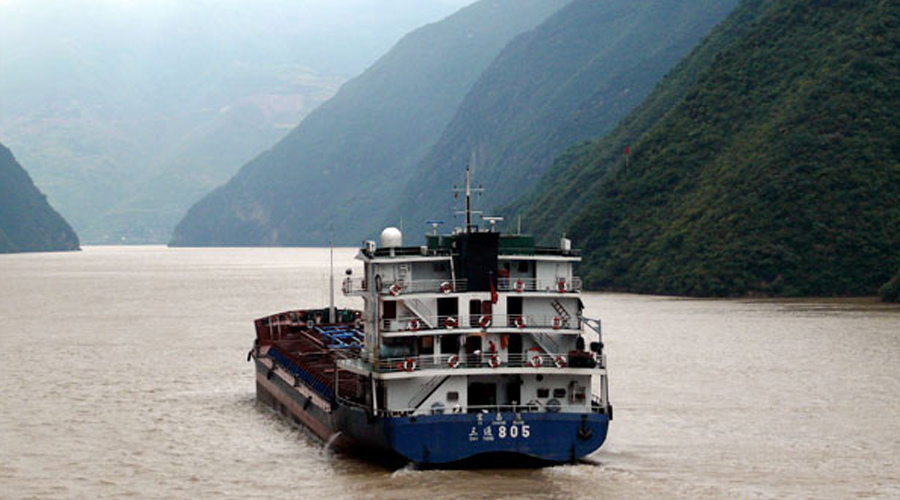 Drifting back in time on China's Yangtze River