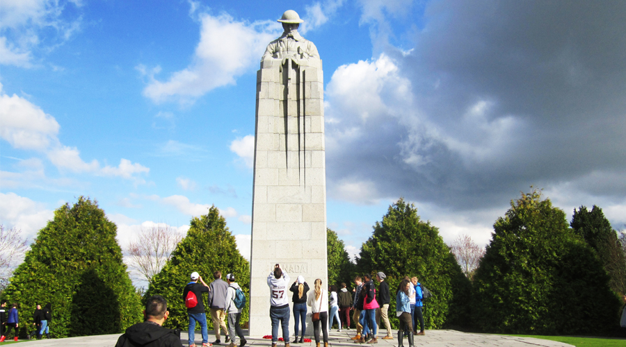 Canadian students get a 'history' lesson