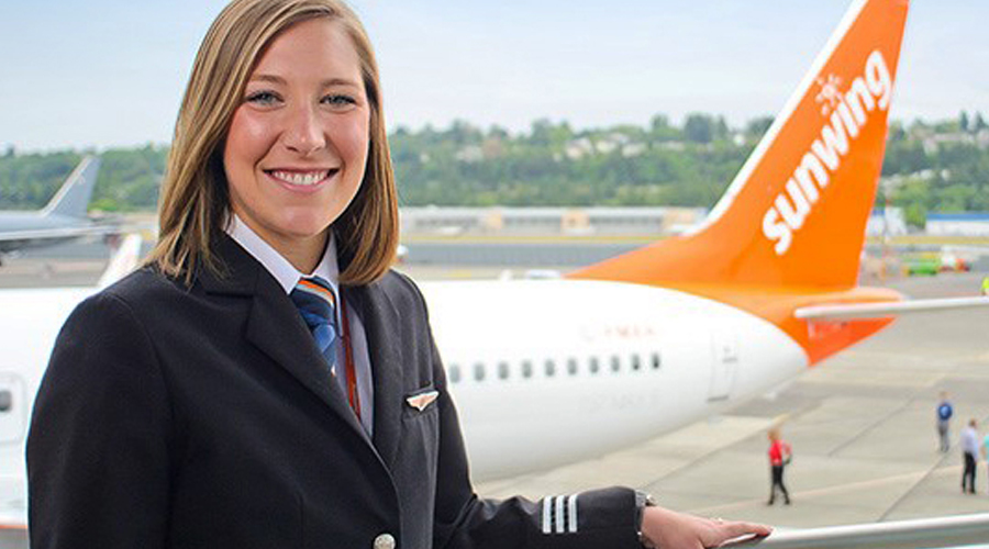 Sky's the limit for female pilots