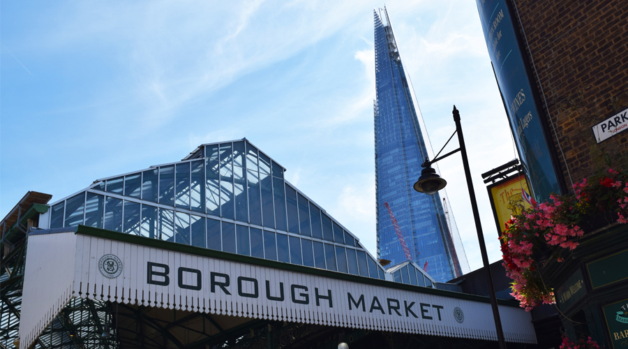 Borough market is back in business