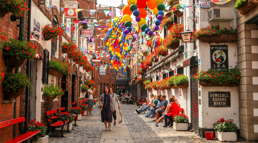 Colourful Belfast is booming
